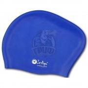 Шапочка для плавания для длинных волос Indigo (синий)