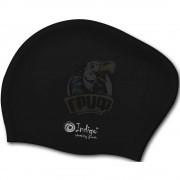 Шапочка для плавания для длинных волос Indigo (черный)