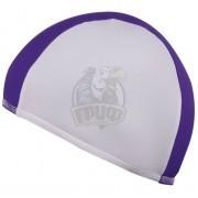 Шапочка для плавания SM (белый/фиолетовый)