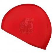 Шапочка для плавания SM (красный)
