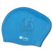 Шапочка для плавания для длинных волос Indigo (голубой)