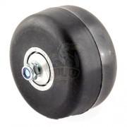 Колесо для лыжероллеров с подшипником Shamov без храпового механизма 70*40 (каучук)