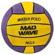 Мяч для водного поло тренировочный Mad Wave WP Official №4