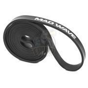 Петля тренировочная многофункциональная Mad Wave Long Resistance Band 13.6-22.7 кг (черный)