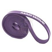 Петля тренировочная многофункциональная Mad Wave Long Resistance Band 18.2-36.4 кг (фиолетовый)