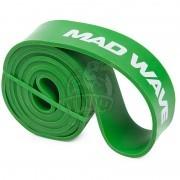 Петля тренировочная многофункциональная Mad Wave Long Resistance Band 22.7-54.5 кг (зеленый)