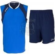 Форма волейбольная мужская Asics Set Volley Smu (синий/темно-синий)