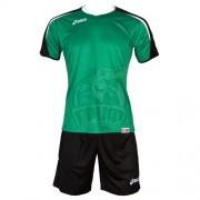 Форма волейбольная мужская Asics Set Osaka (зеленый/черный)