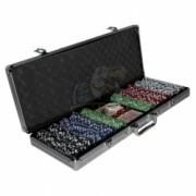 Набор для покера в чемодане на 500 фишек
