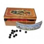 Лото русское сувенирное в бамбуковой коробке