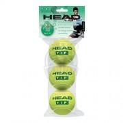 Мячи теннисные Head T.I.P Green (3 мяча в пакете)