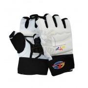 Перчатки таэквондо WTF ПВХ (белые)