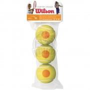 Мячи теннисные Wilson Starter Orange Tball (3 мяча в пакете)