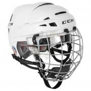 Шлем хоккейный с маской CCM Vector 10 (белый)