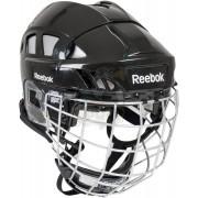 Шлем хоккейный с маской Reebok 7K Combo (черный)