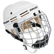 Шлем хоккейный с маской Bauer 4500 Combo (белый)