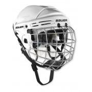 Шлем хоккейный с маской Bauer 2100 (белый)