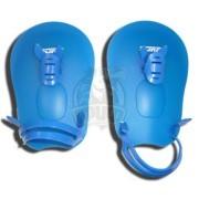 Лопатки для плавания Fora (синий)