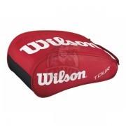Сумка для обуви Wilson Tour Shoe Bag (красный)