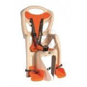 Детское велокресло Bellelli Pepe Standart (белый/оранжевый)