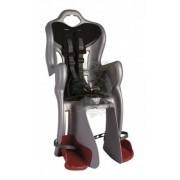 Детское велокресло Bellelli B-One Standart (серебристый/черный/красный)