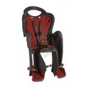Детское велокресло Bellelli Mr. Fox Relax (серый/красный)