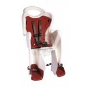 Детское велокресло Bellelli Mr. Fox Relax (белый/красный)