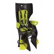 Детское велокресло Bellelli Summer Relax Hi-viz (черный/зеленый)