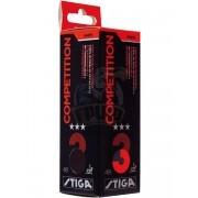 Мячи для настольного тенниса Stiga Competition 3* (оранжевый)