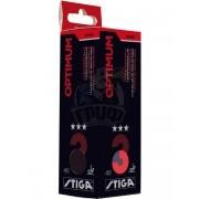Мячи для настольного тенниса Stiga Optimum 3* (оранжевый)