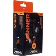Мячи для настольного тенниса Stiga Winner 2* (белый)
