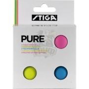 Мячи для настольного тенниса Stiga Pure (белый)