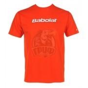 Футболка спортивная для мальчиков Babolat Training Basic Boy (оранжевый)