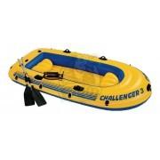 Лодка надувная двухместная Intex Challenger 3 ПВХ