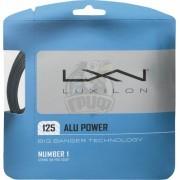 Струна теннисная Luxilon Alu Power Silver 1.25/12.2 м (серебристый)