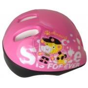 Шлем защитный Maxcity Teddy Light Pink