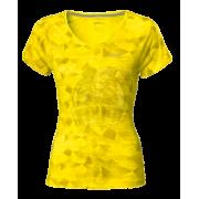 Футболка спортивная женская Asics Graphic Scoop Top (желтый)