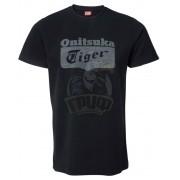 Футболка спортивная мужская Onitsuka Tiger Logo Tee (черный)