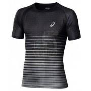 Футболка спортивная мужская Asics M'S Performance Stripe Tee (черный)