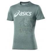 Футболка спортивная мужская Asics M'S SS Logo Tee (серый)