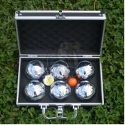 Набор шаров для петанка (боча) в кейсе 6 шт