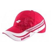 Бейсболка спортивная Babolat Promo Cap (белый/розовый)