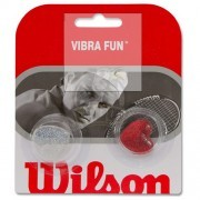 Виброгаситель Wilson Vibra Fun Dampeners x2 (серебро/красный)