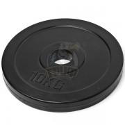 Диск 10 кг обрезиненный  Ø50 мм