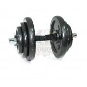 Гантель разборная черная 19 кг