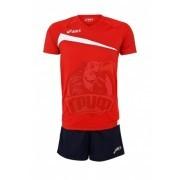 Форма волейбольная мужская Asics Set Play Off (красный/синий)