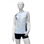 Форма волейбольная женская Asics Set Fly Lady (белый/черный)
