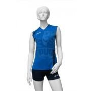 Форма волейбольная женская Asics Set Fly Lady (синий/темно-синий)