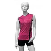 Форма волейбольная женская Asics Set Fly Lady (розовый/черный)