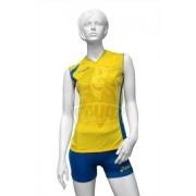 Форма волейбольная женская Asics Set Fly Lady (желтый/синий)